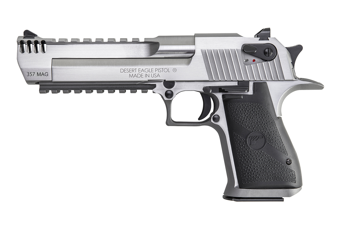 Elite Auto Sales >> All-Stainless Desert Eagles in .357 Mag and .44 Mag Announced