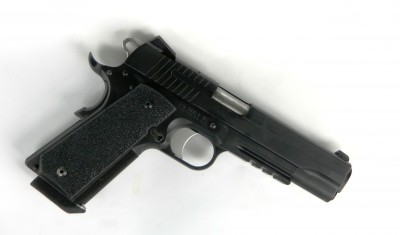 SIG Sauer TACOPS pistol right side