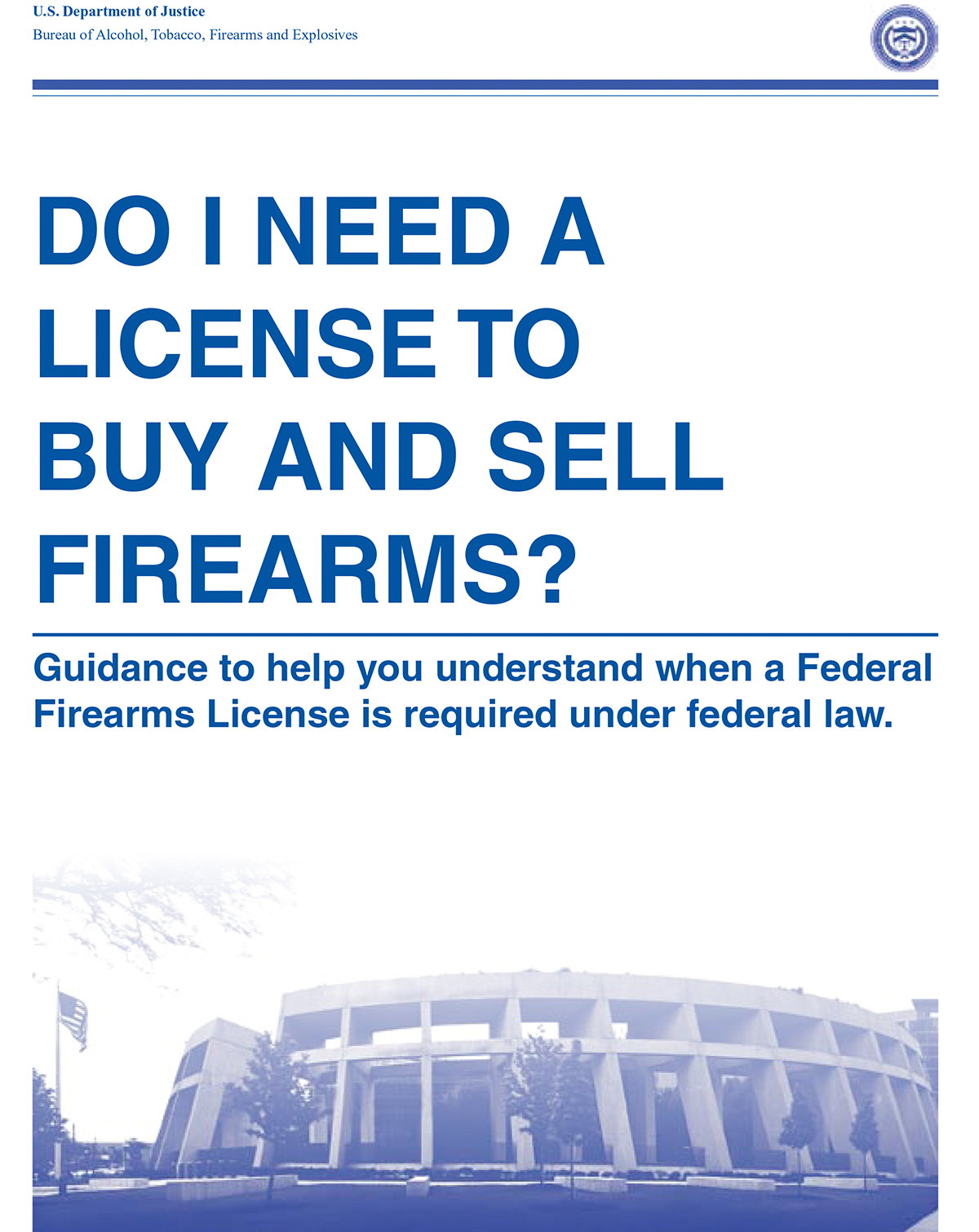 Law Prof: 'New ATF Guidance on Gun Sales is Legally Meaningless'