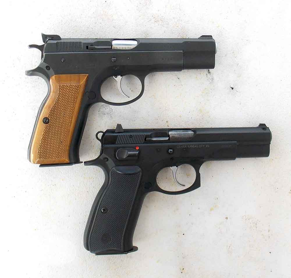 CZ 75 and CZ 75 B pistol