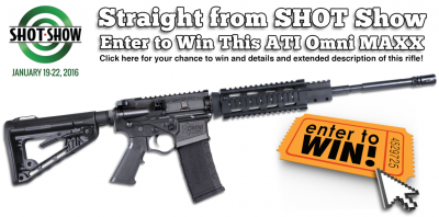 American Tactical Imports AR-15 Omni Hybrid MAXX 5.56/.223 with Quad Rail rifle Give Away