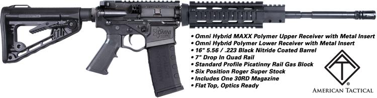 ATI Omni MAXX AR 15 Rifle
