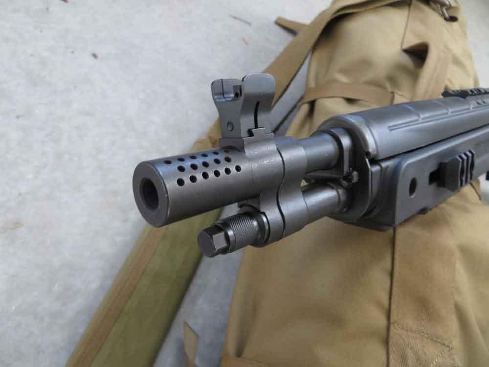 Muzzlebreak on Springfield SOCOM 16 rifle