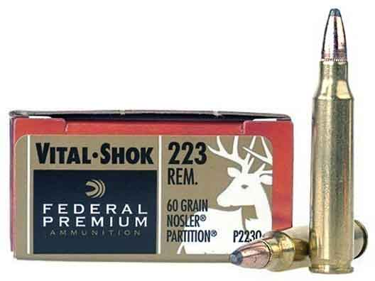 Federal Vital-Shok 223 Remington
