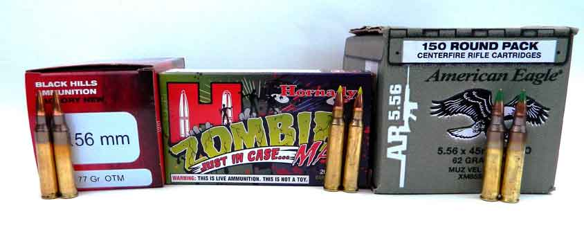 Multiple boxes of .223 ammunition