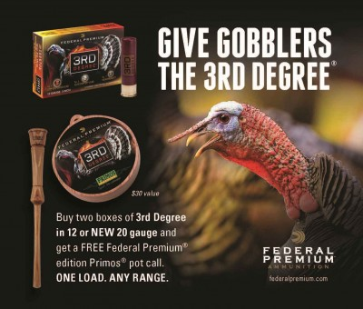 Federal Premium 3rd Degree Turkey load ad