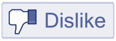 Facebook thumbs down icon