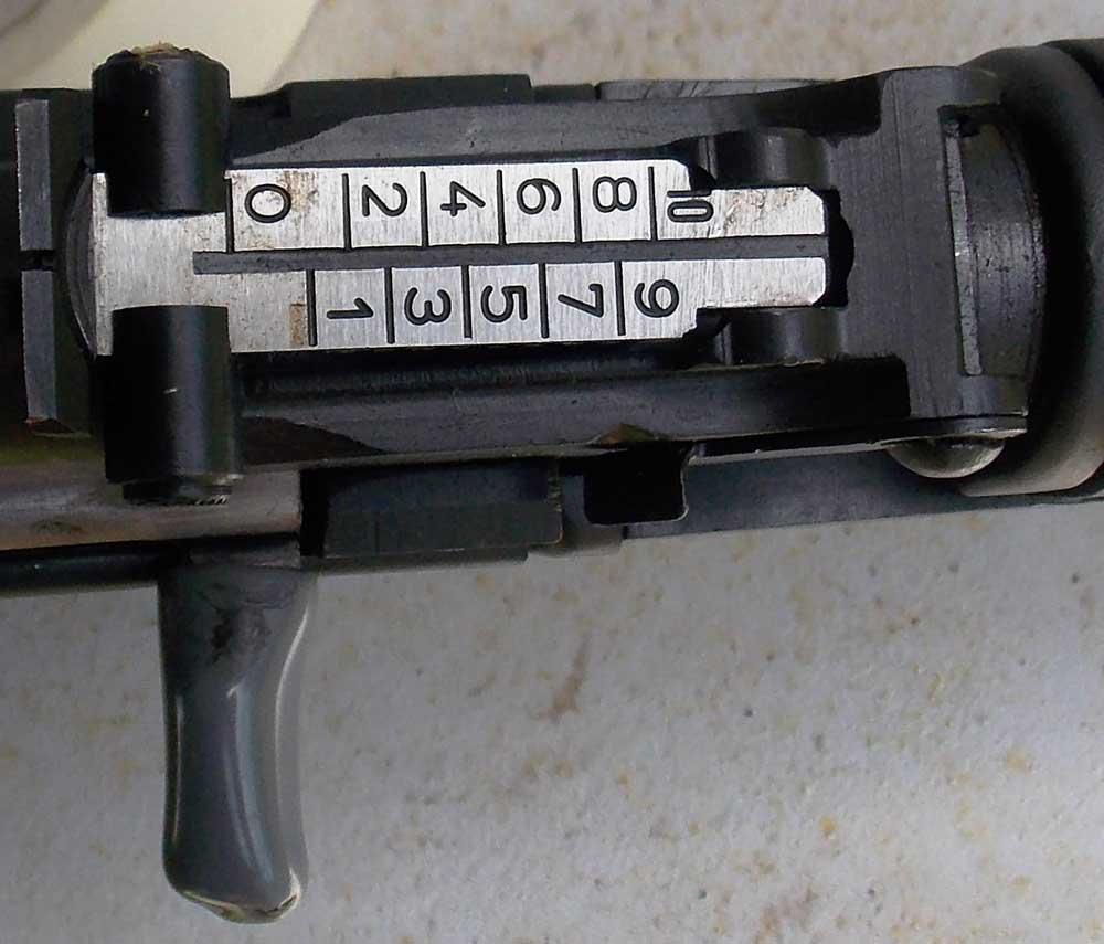 AK-style rifle sight