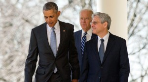 President Barack Obama, left, has nominated Judge Merrick Garland, right, to fill the vacancy on the U.S. Supreme Court left by the death to Justice Antonin Scalia. Photo courtesy of NRA-ILA.