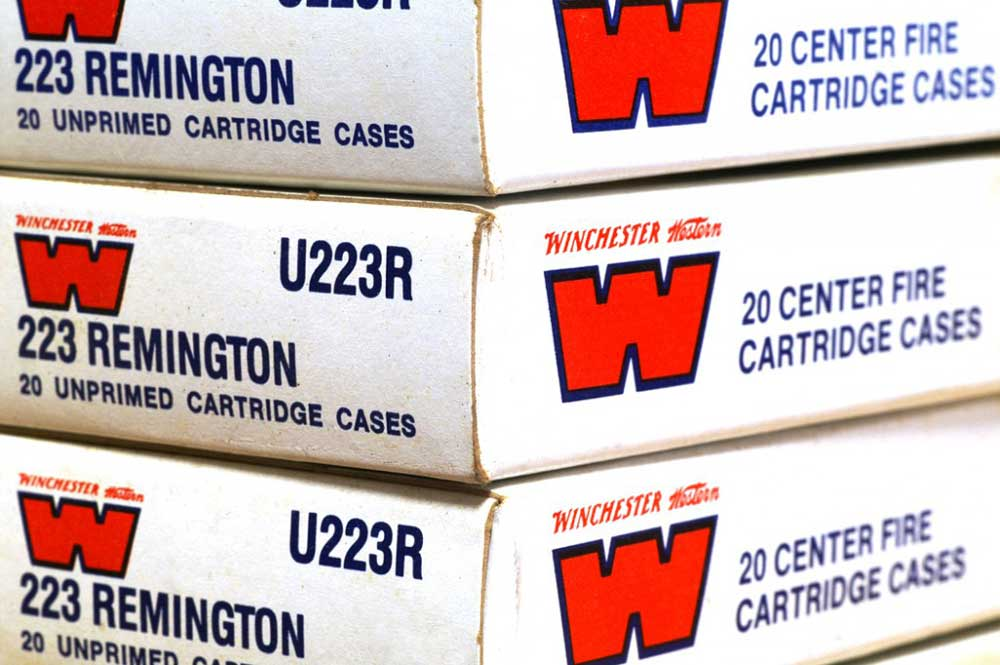 Winchester ammunition boxes