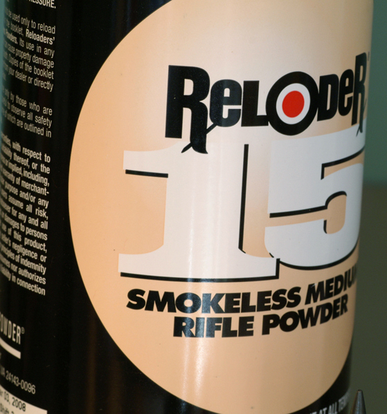 Reloader 15 smokeless powder