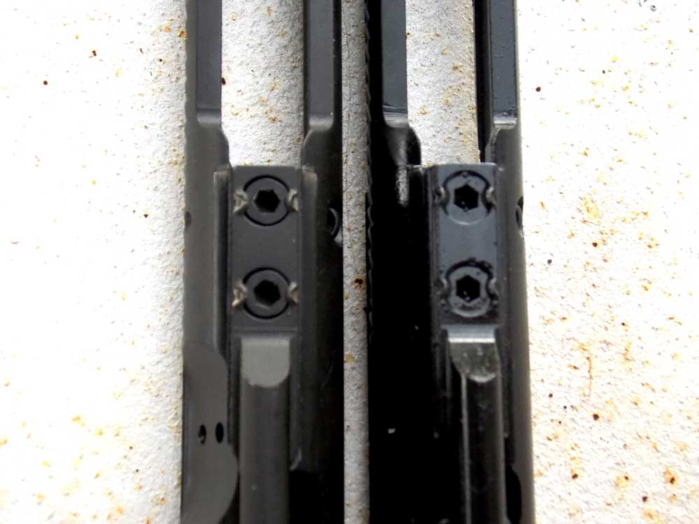 Bolt carrier key on Colt SOCOM and Expanse rifles