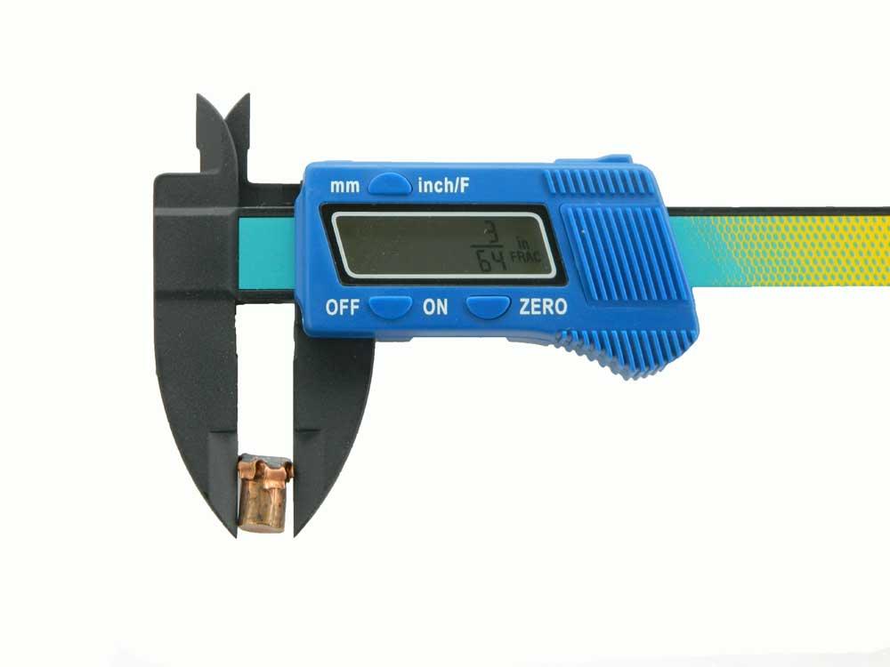 Micrometer of bullet