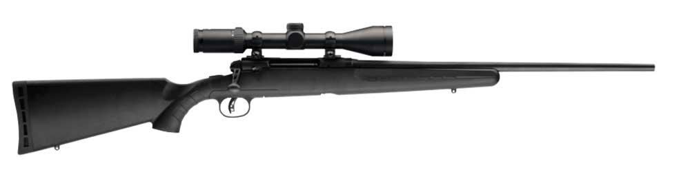 Savage Axis rifle rifle side