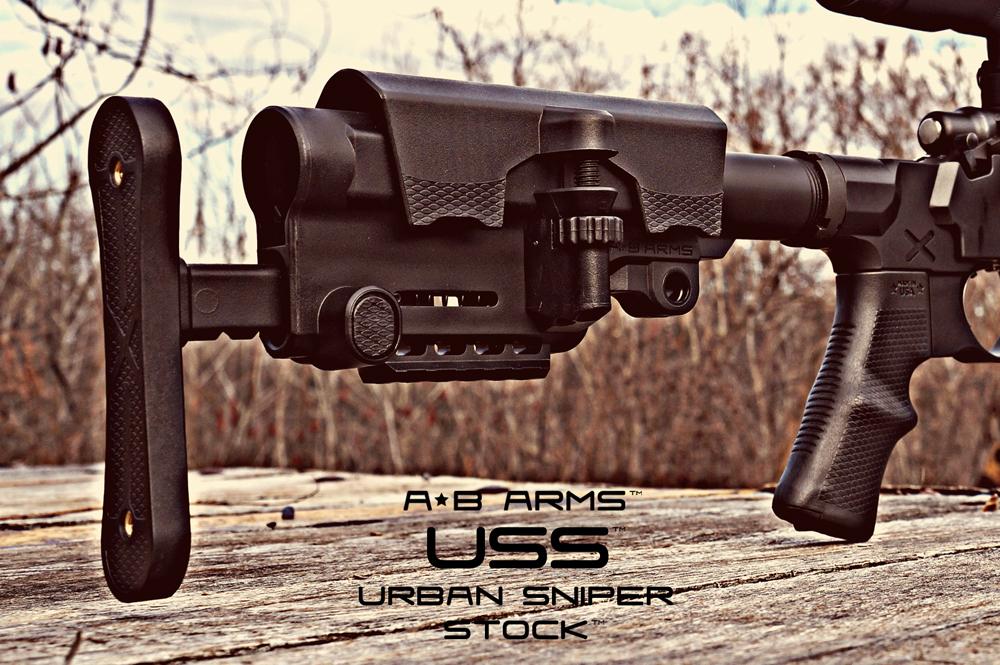 AB Arms USS Urban Sniper Stock