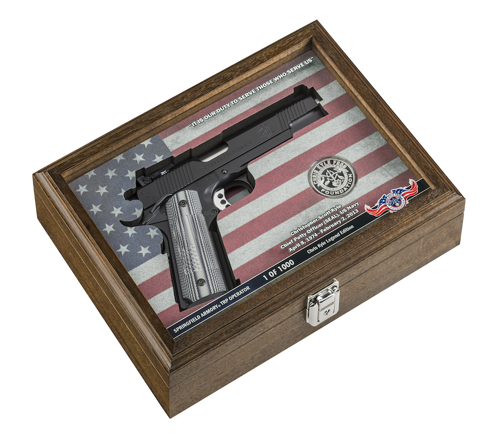 Springfield Armory 1911 TRP in presentation case