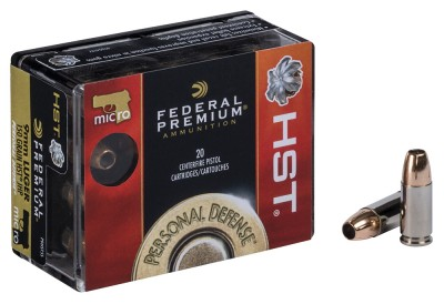 Federal Premium Personal Defense Micro HST 9mm