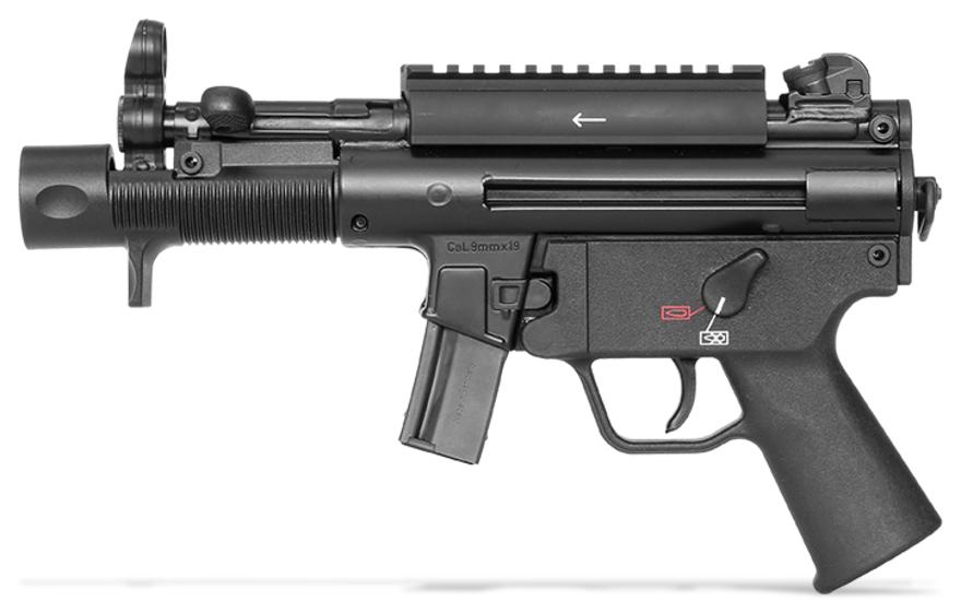 Heckler Amp Koch Announces Release Of Sp5k Civilian Version