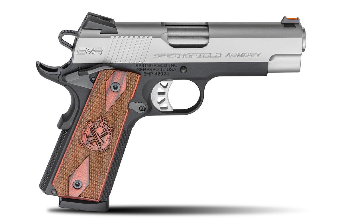 Springfield EMP 4 9mm pistol right