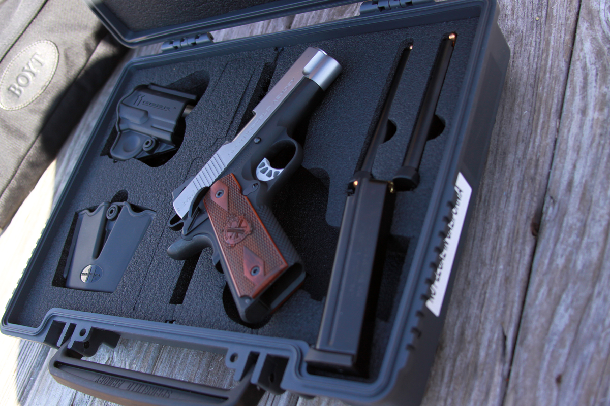 Springfield EMP 4 with hard case and magazines