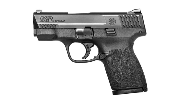 Smith and Wesson Shield .45 acp left