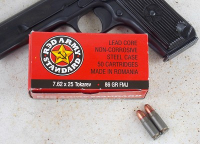 Red Army 7.62x25mm Tokarev