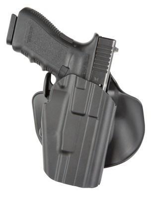 Safariland 578 GLS holster with Glock pistol