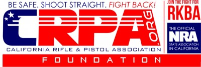 California Rifle and Pistol Association's red white and blue logo