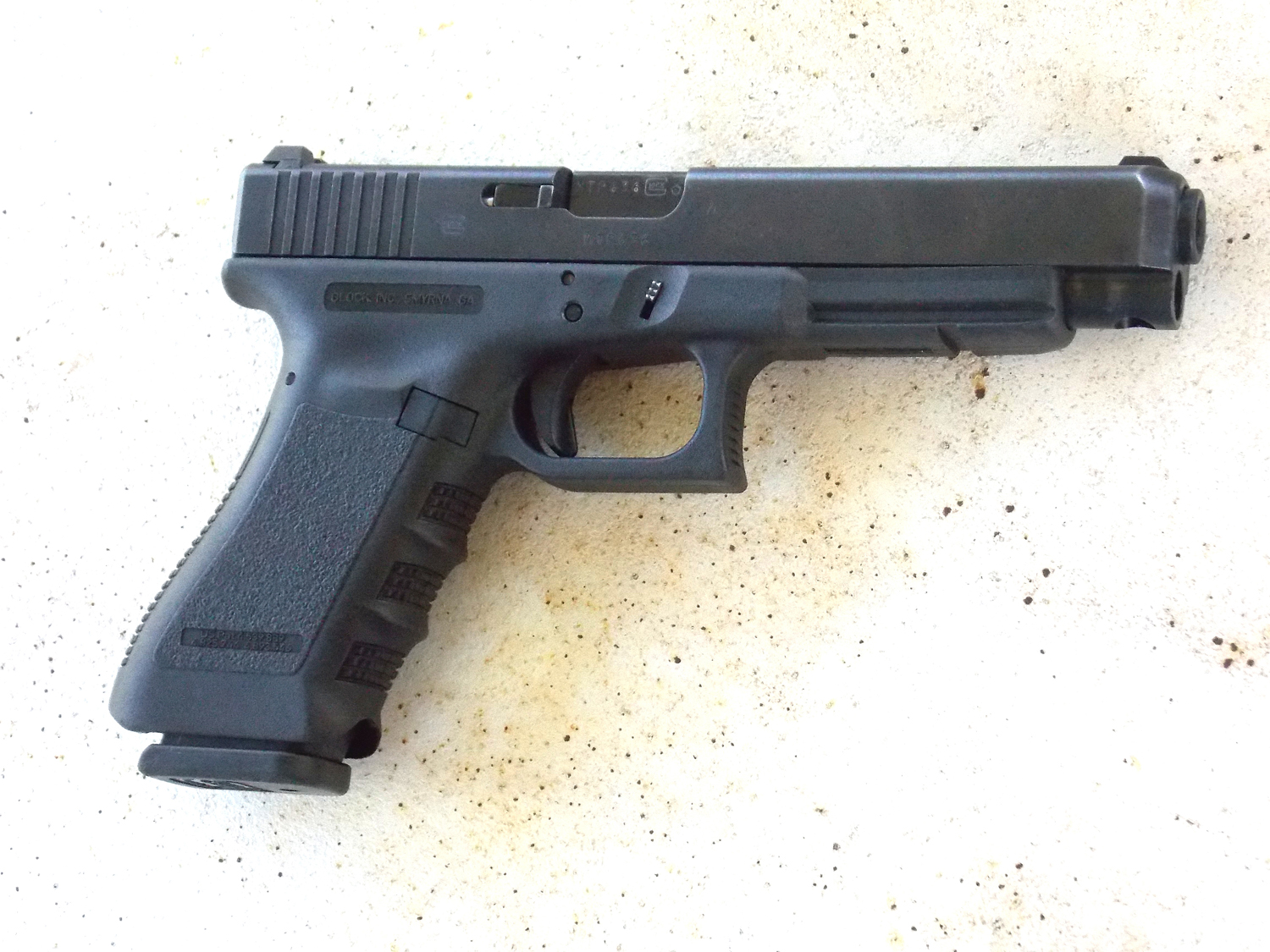 Glock 35 right side