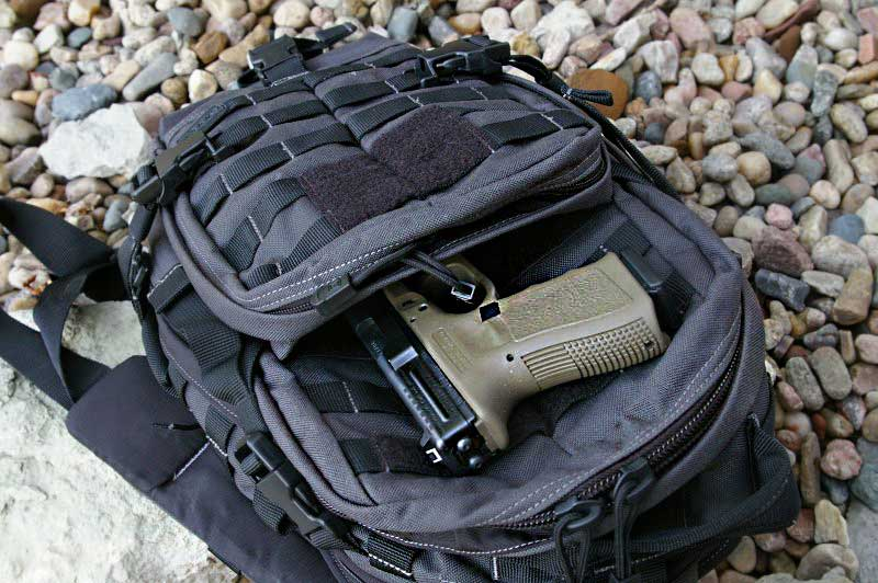5 11 Moab Pack With Concealed Carry Holster And Gun