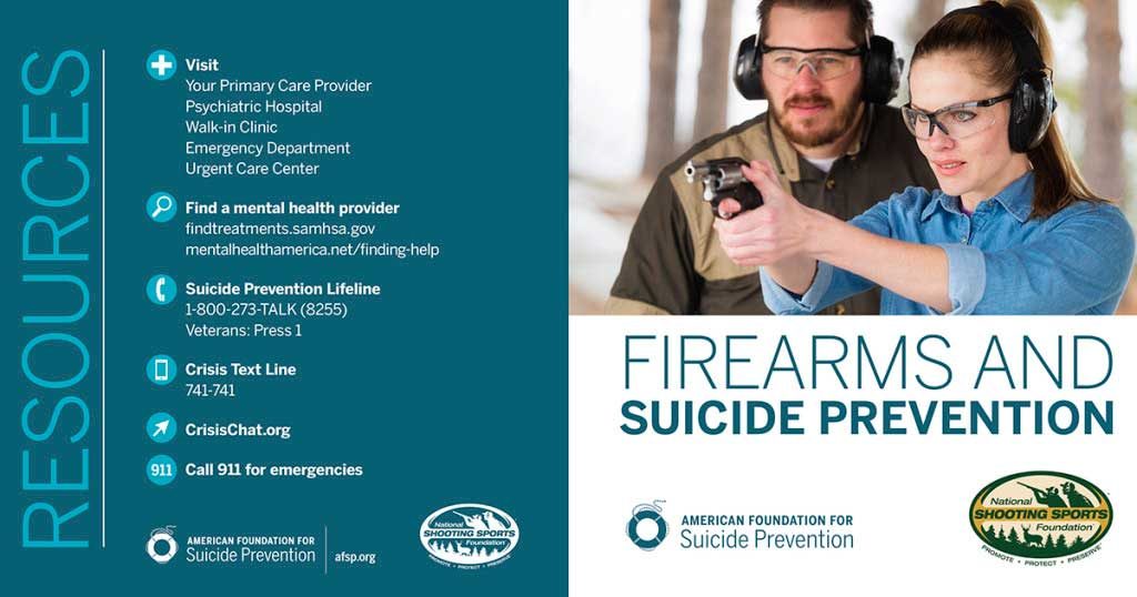 Firearms and suicide infographic