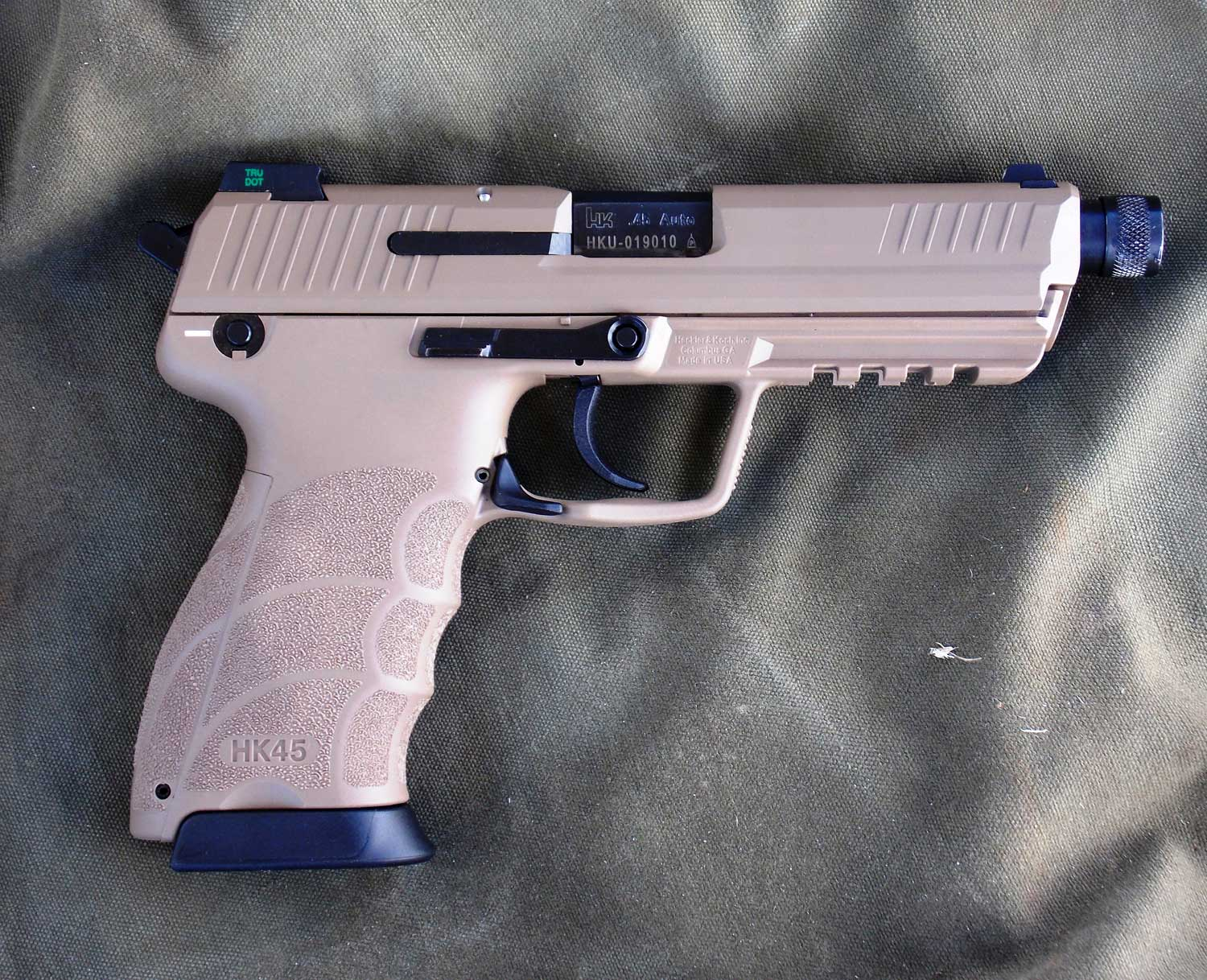 Range Report: HK45 Tactical