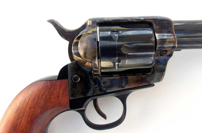 Case hardening on Traditions revolver