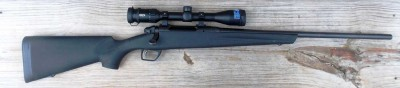 Remington 783 rifle with Meopta scope right profile