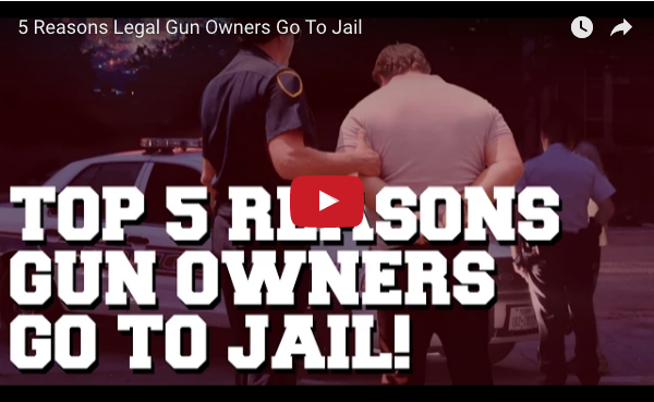 Video cover for U.S. Law Shield's Top 5 Reasons Gun Owners go to Jail