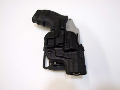Blackhawk CQC Concealment holster with Smith and Wesson Model 642 revolver