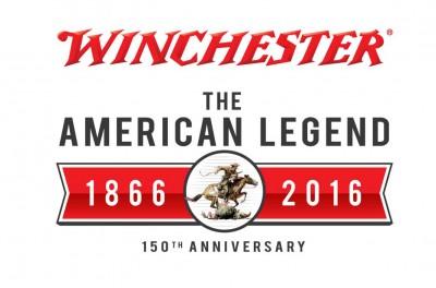 Winchester American Legend 150 year logo