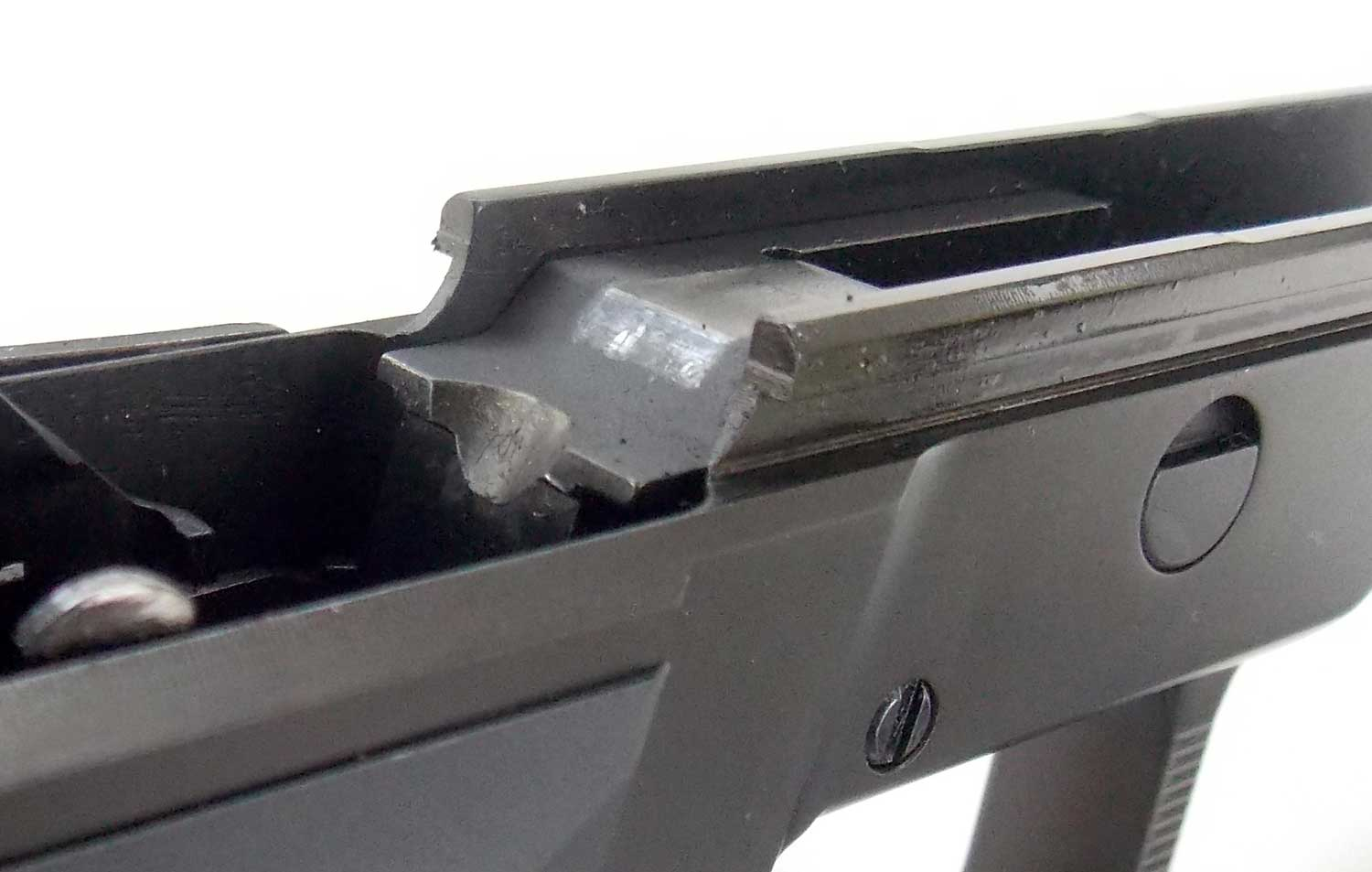 Frame of the AREX Rex Zero 1 pistol