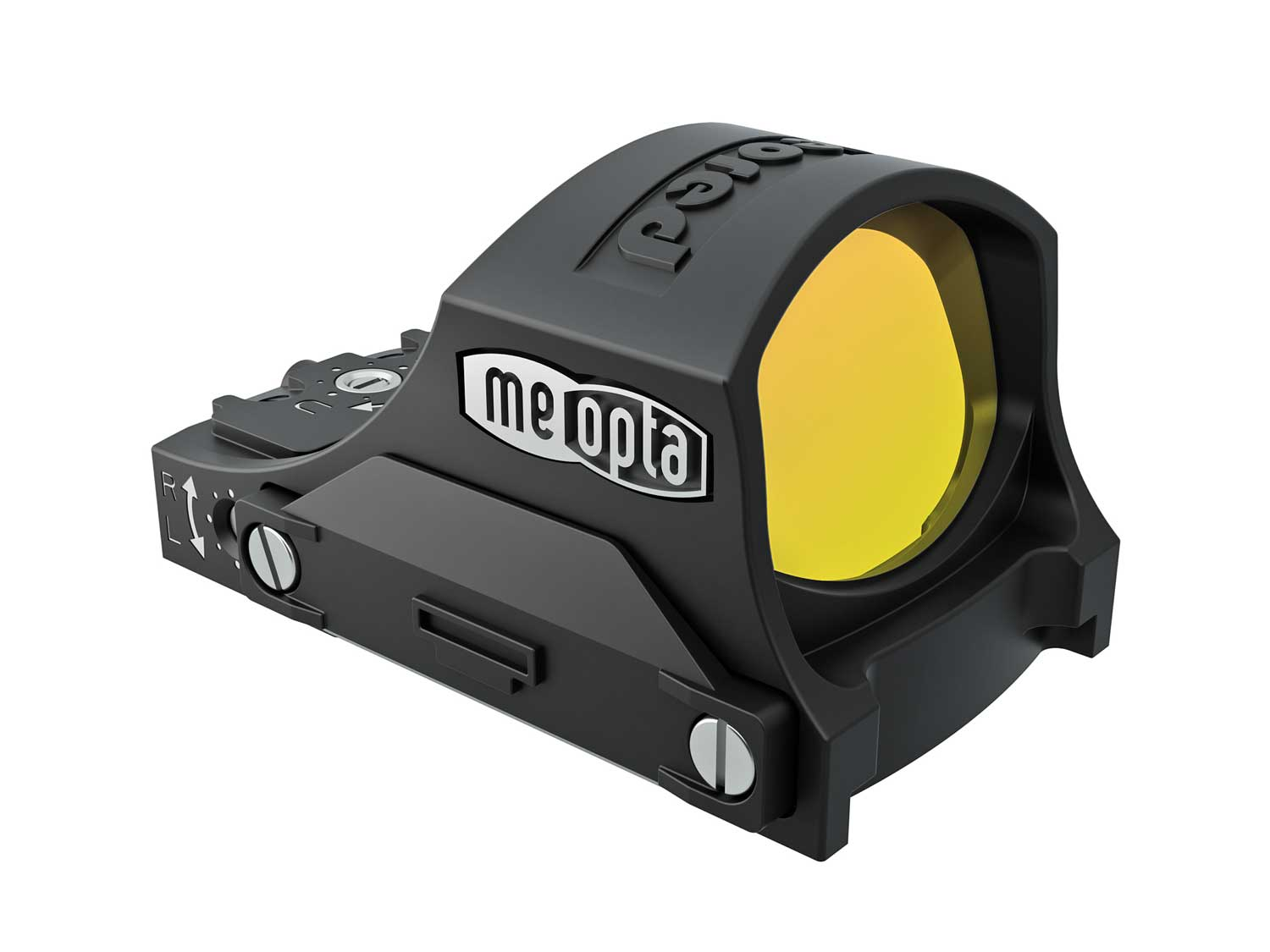 Meopta MeoRed red dot sight front right quarter