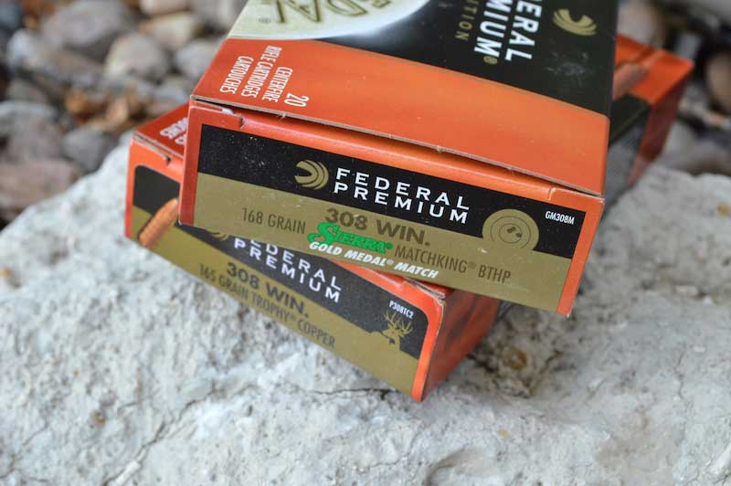 2 boxes of Federal Premium ammunition