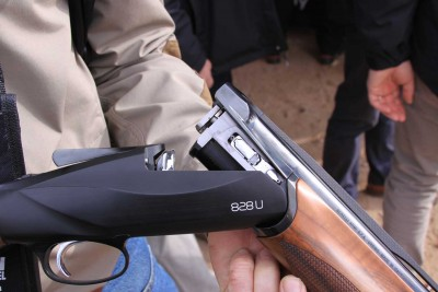 Benelli 828 O/U shotgun