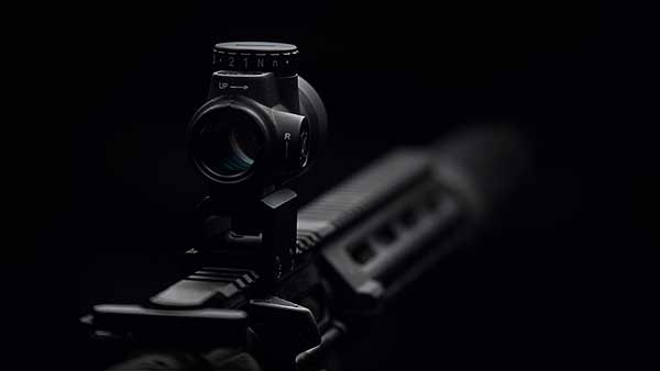 Dark rendering of the Trijicon MRO