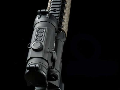 TruGlo Tru Tec 30mm laser scope mounted on AR-15