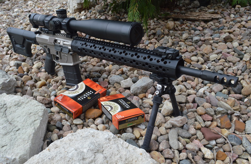Devil Dog .308 with Burris XTR II riflescope