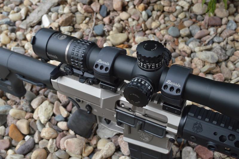 Burris XTR high precision self-centering 0-40 MOA riflescope mounts
