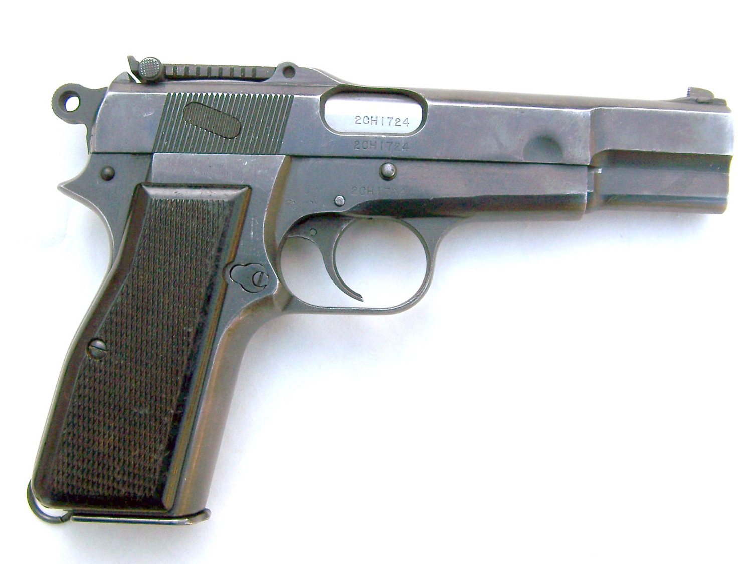 Browning Hi Power right profile