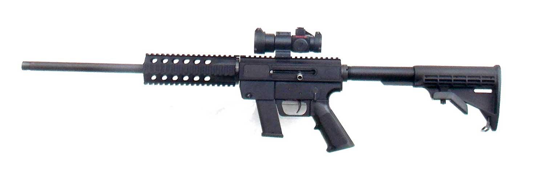 JRC rifle left profile black
