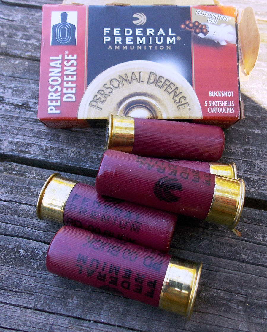 Federal Personal Defense buckshot shotshells