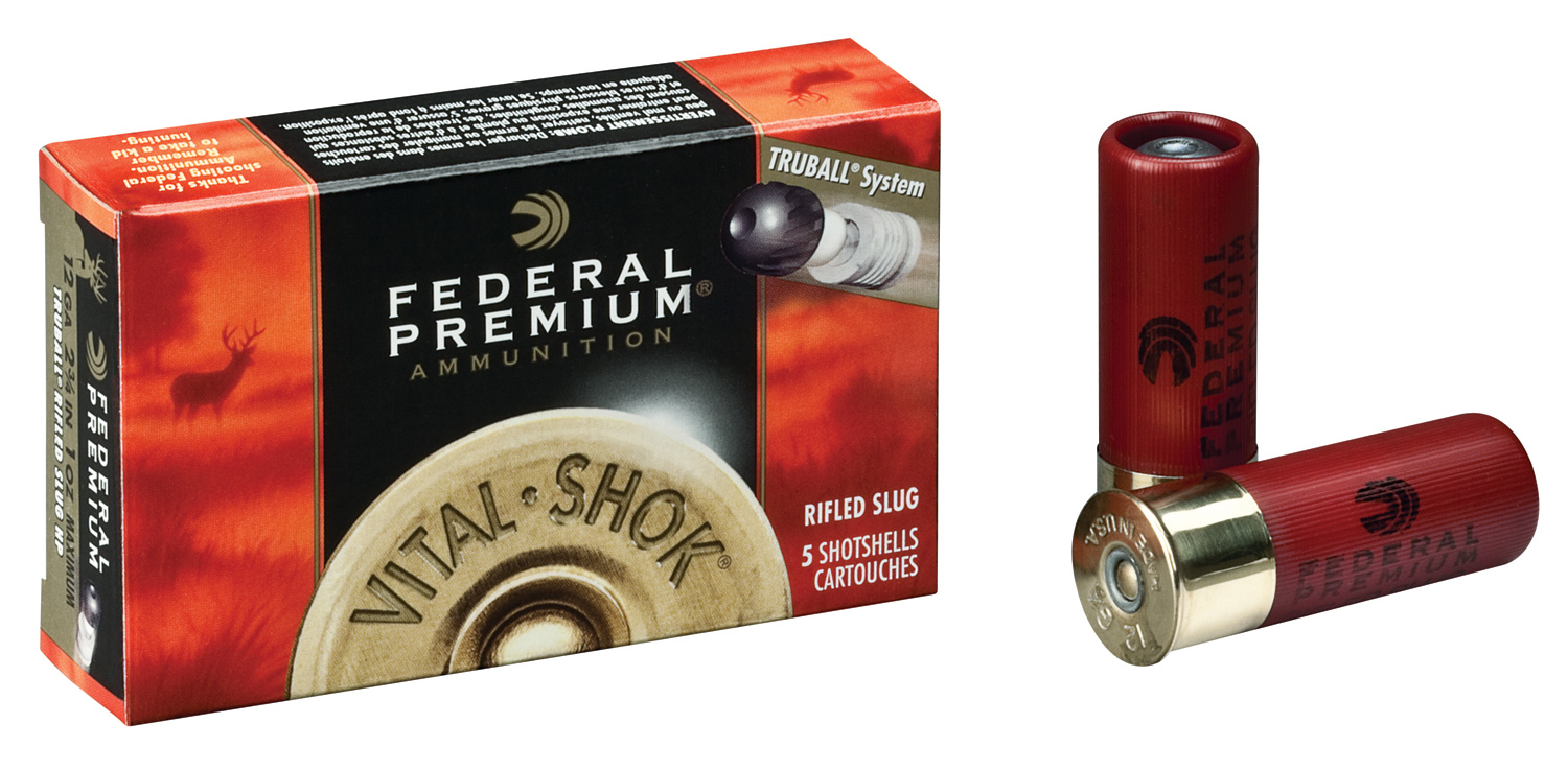 Federal TruBall shotgun slugs