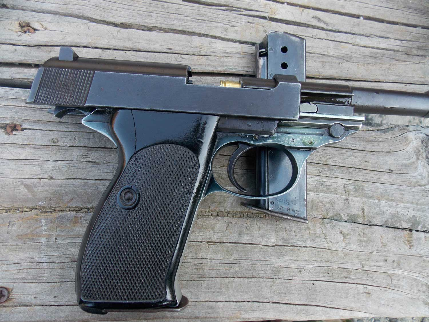 Old Walther pistol